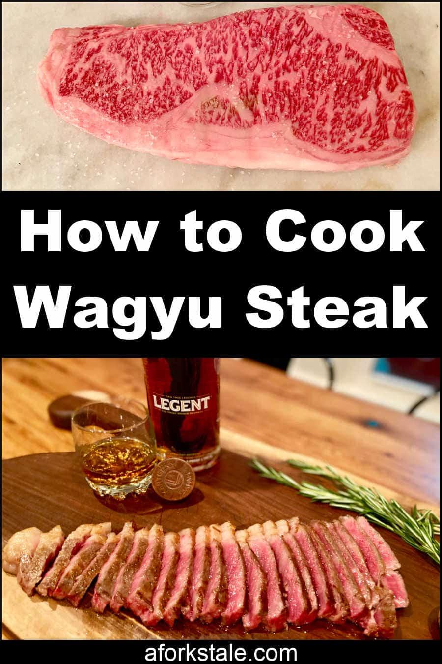How To Cook A Wagyu Steak Recipe In 2021 Wagyu Steak Cooking Wagyu