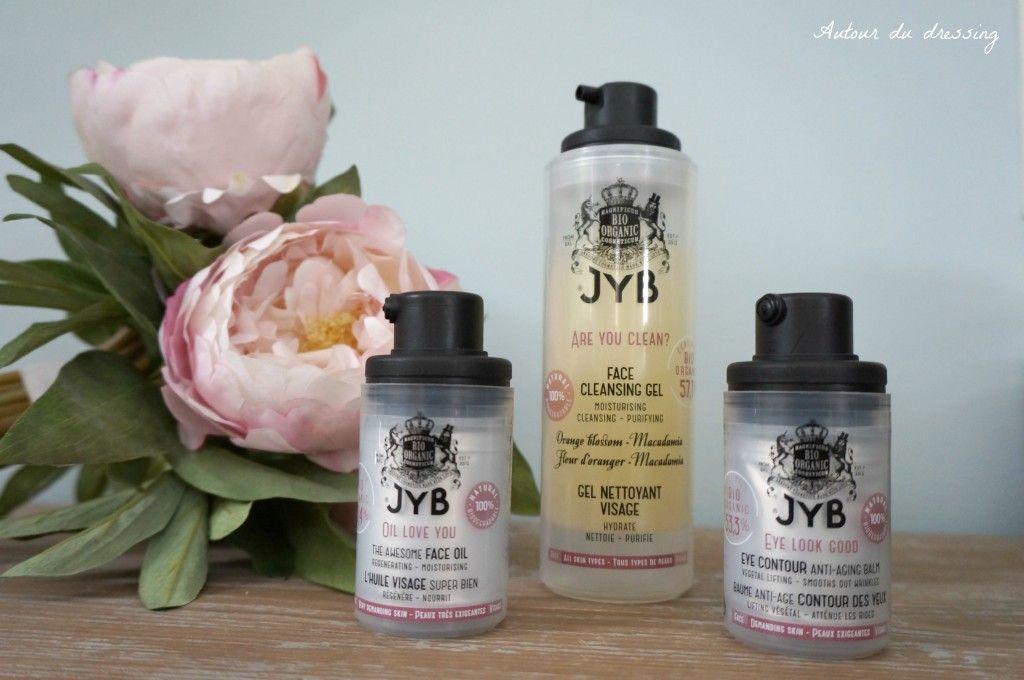 JYB cosmetique belge bio