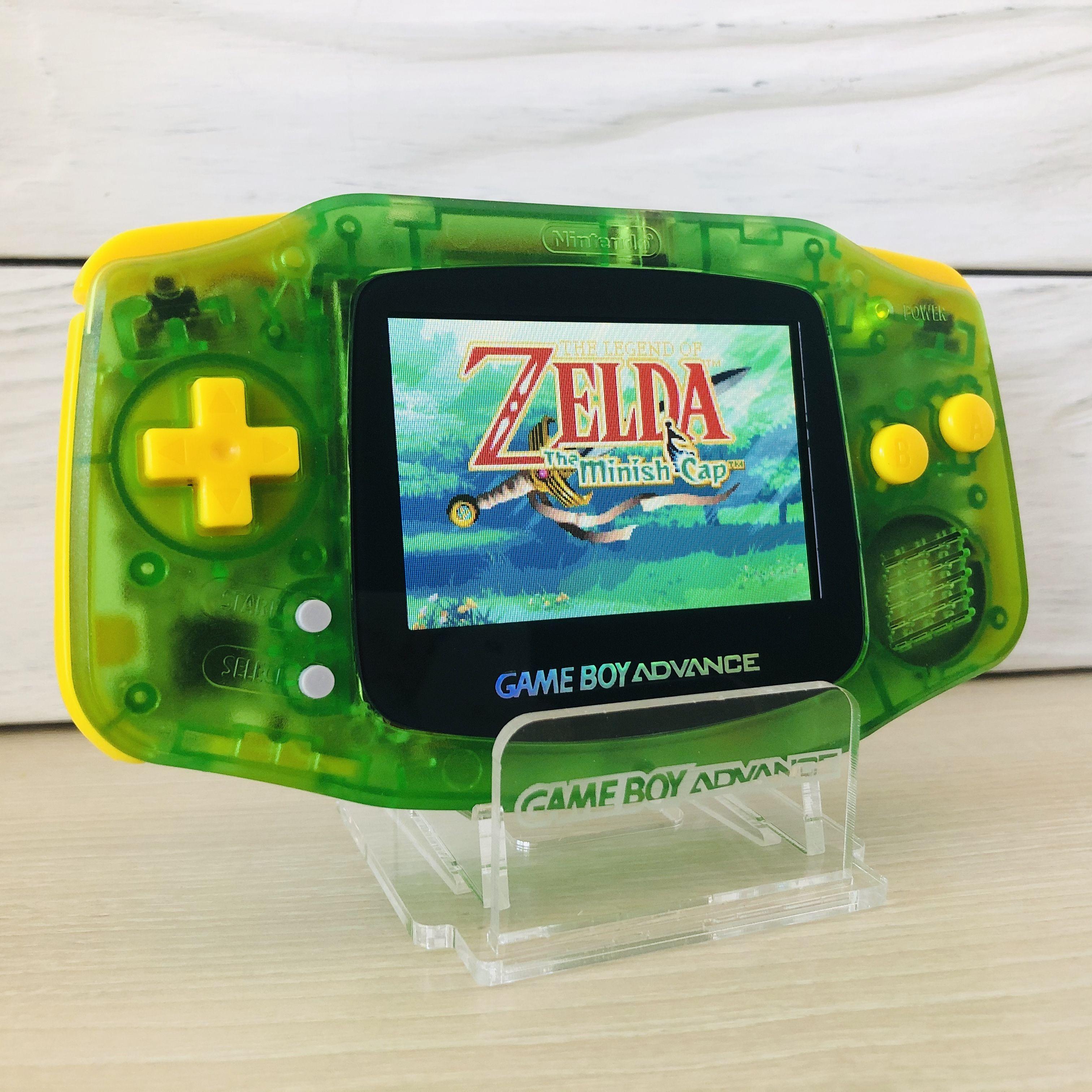 Rechargeable Ips V2 Game Boy Advance Zelda Inspired Etsy Game Boy Advance Gameboy Nintendo Game Boy Advance
