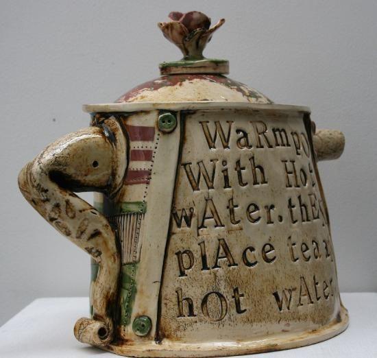 Blue Plate Stephanie Pace Ceramics Cornwall Pottery