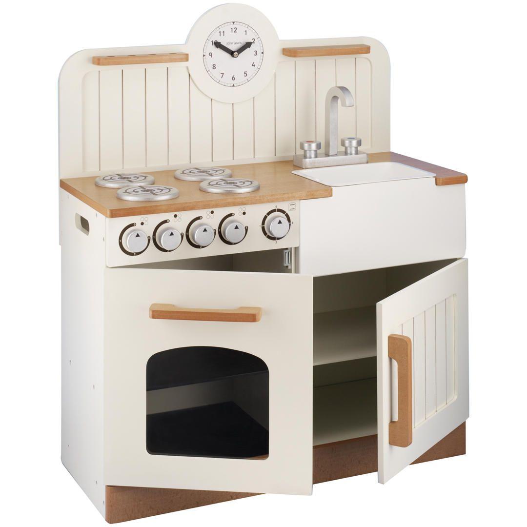 John Lewis Country Play Wooden Kitchen | Pinterest | Wooden kitchen ...