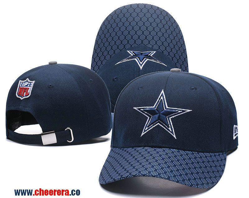 2018 New NFL Dallas Cowboys Blue Adjustable SnapBack Hat ... 3625f15f2