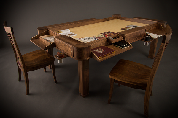 Geek Chic  To Rich For Us, But Nice (and Free) To Look At Vizier Gaming  Table