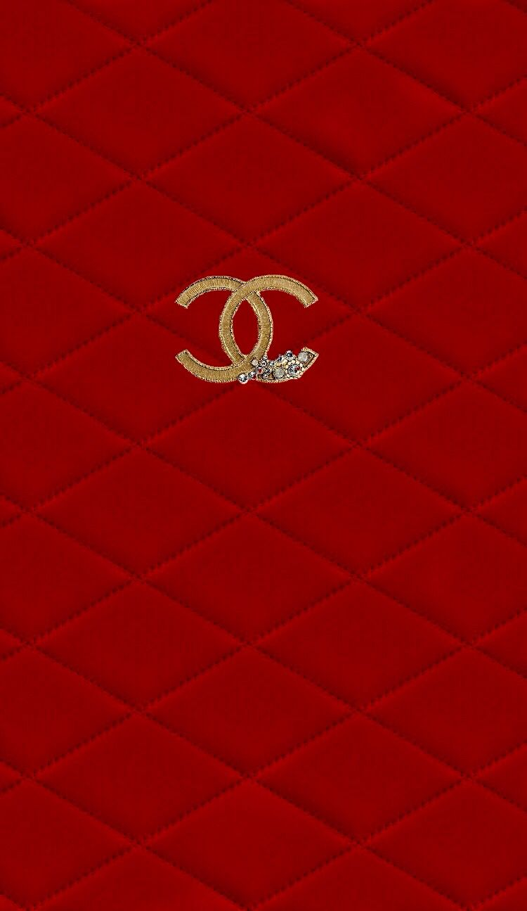 Chanel Red Iphone 6 Plus Wallpaper Bling Wallpaper Chanel