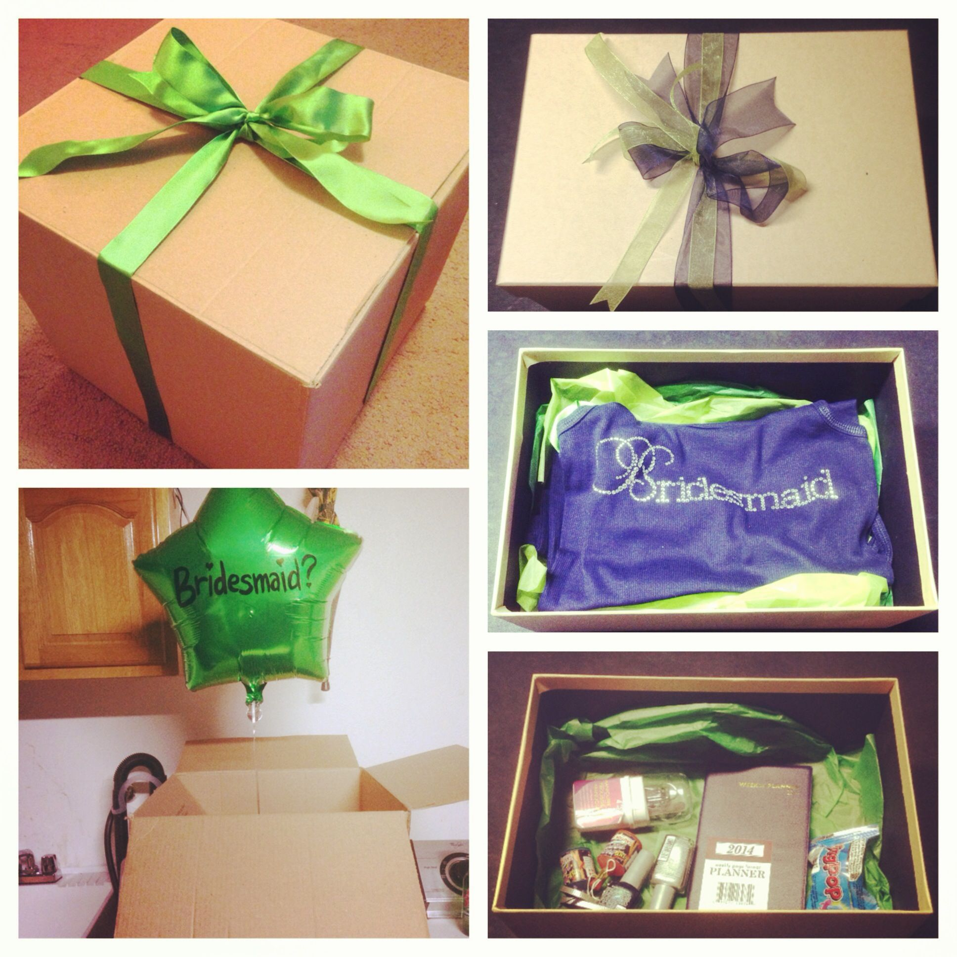 Balloon In A Box = Proposal In A Box