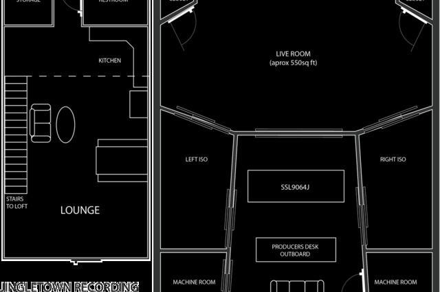 Recording Studio Design Floor Plans