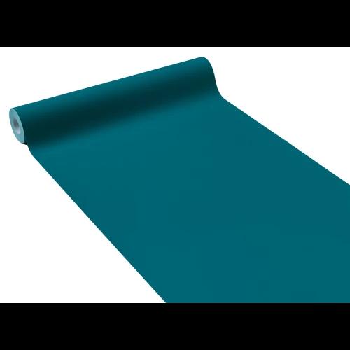 Papier peint intissé OPAL coloris bleu paon