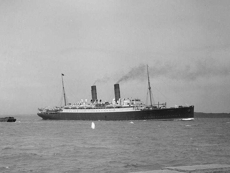 RMS Franconia (Cunard Line - 1910)