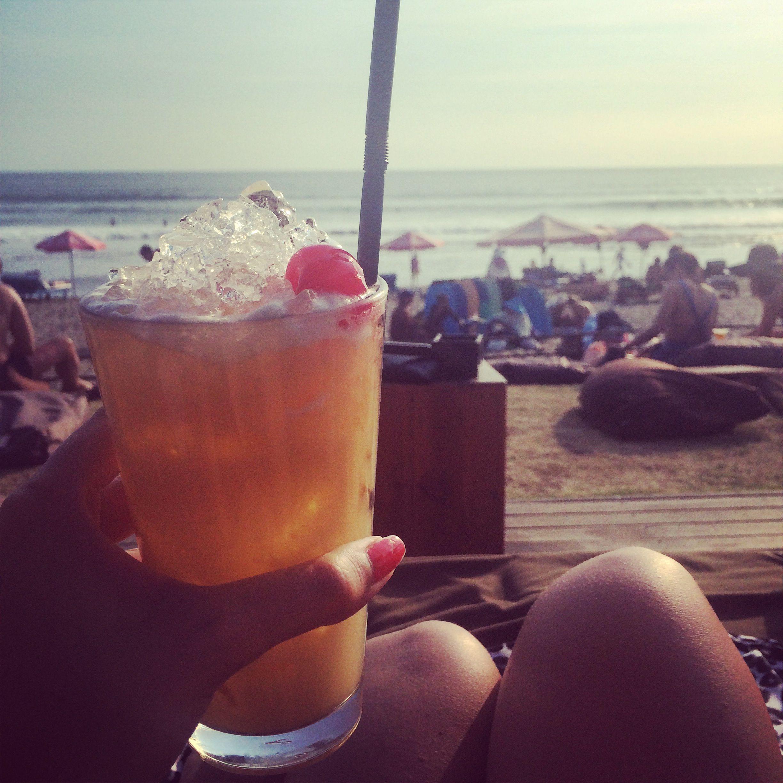 Cheers at the Ku de Ta Seminyak, Bali ❤️