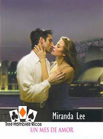 Novelas Romanticas Miranda Lee Un Mes De Amor Novelas Romanticas Novelas Portadas De Novela Romantica