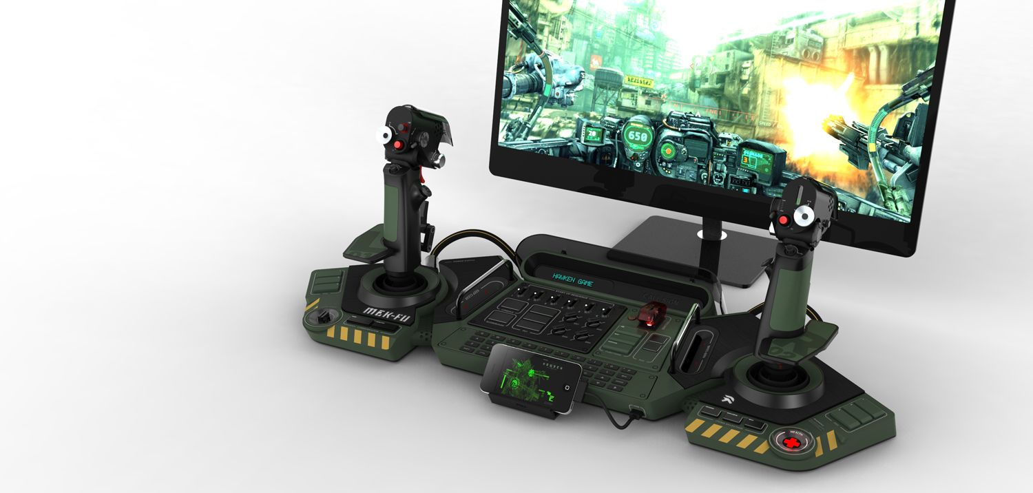 prototype controller for hawken Video game controller
