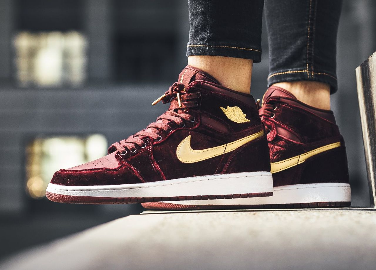 Women Air Jordan 1 Heiress Outlet