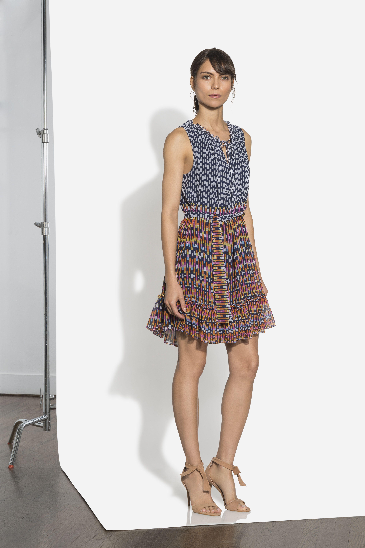 Geo Multi Print Carlisle Dress