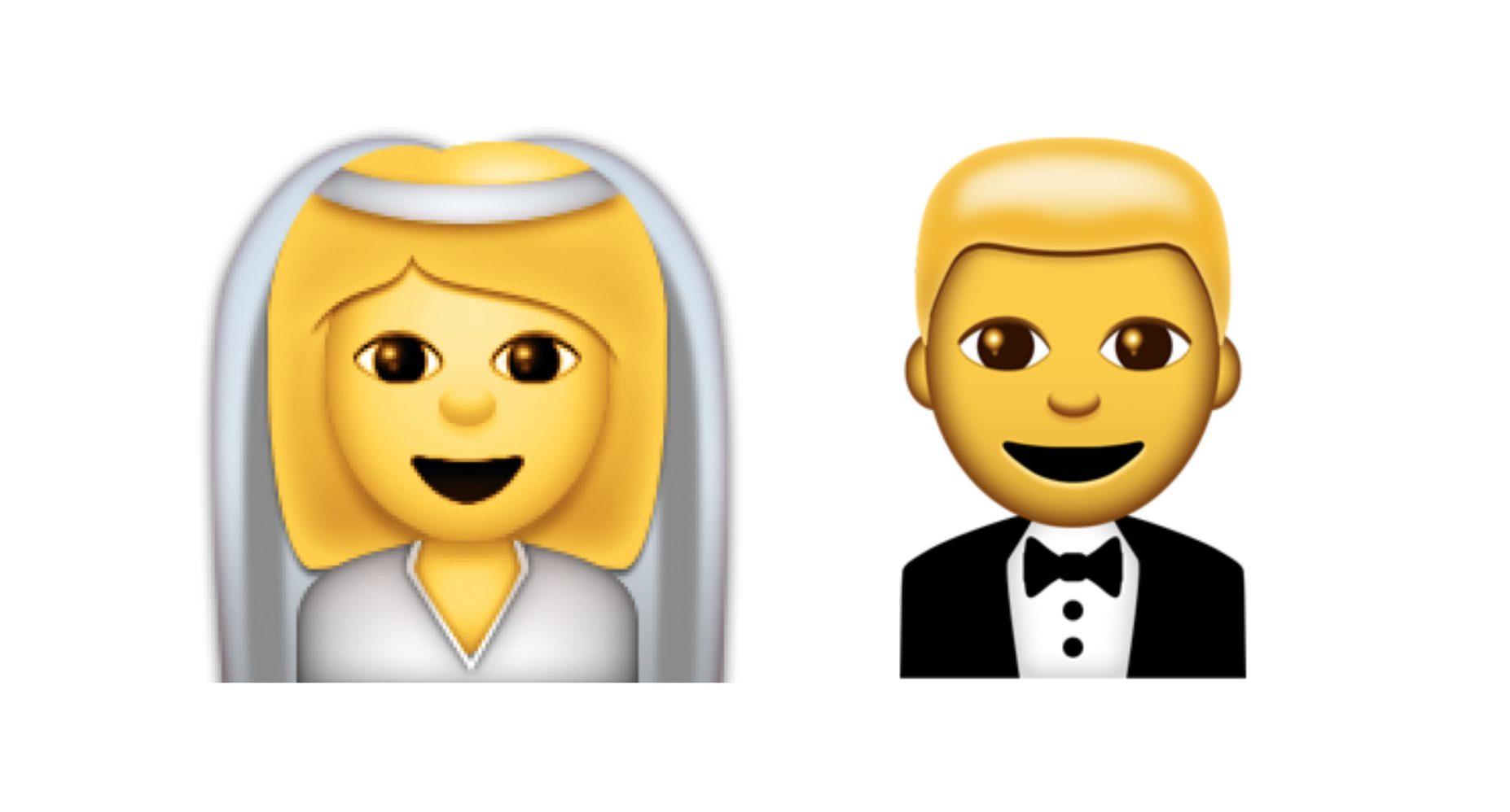Unicode 9 Emoji Updates Emoji Wedding Couple Cartoon Emoji Update
