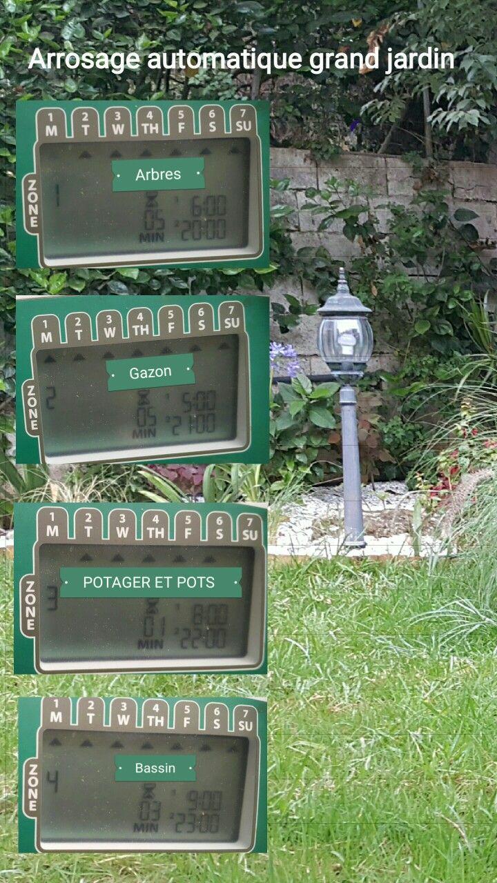 Pingl par larbi el bouhssaini sur jardin grand jardin - Arrosage automatique jardin potager ...