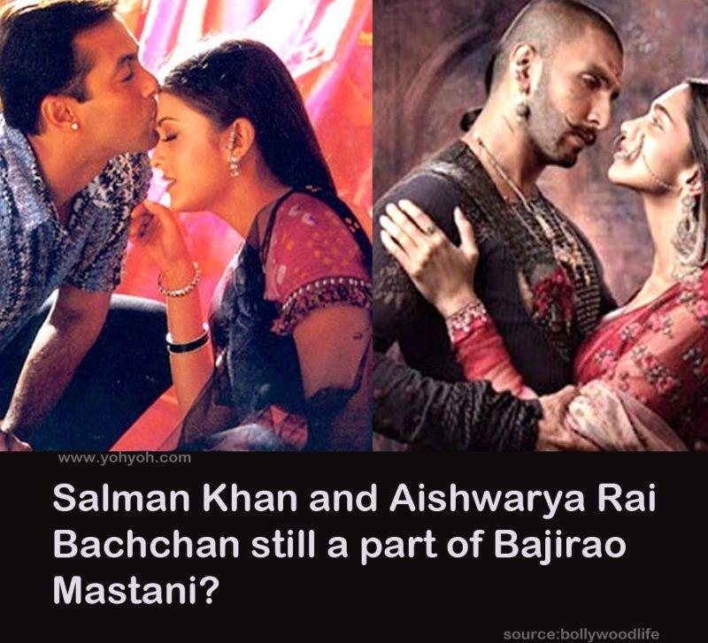 Salman Khan And Aishwarya Rai Bachchan Still A Part Of Bajirao