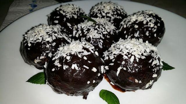 Експлозия от вкусове и аромати: Шоколадови топки с ром и стафиди