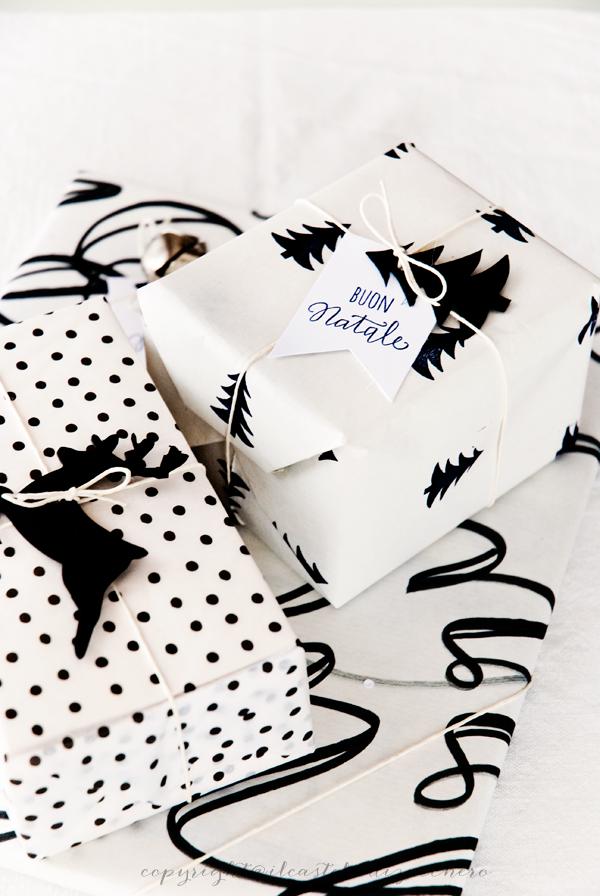 Geschenke einpacken schwarz/weiß #monochrom #weihnachten ...