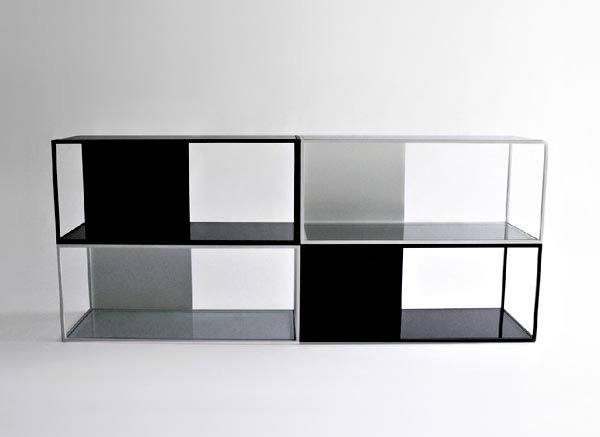 HALF & HALF Shelving - Property Furniture