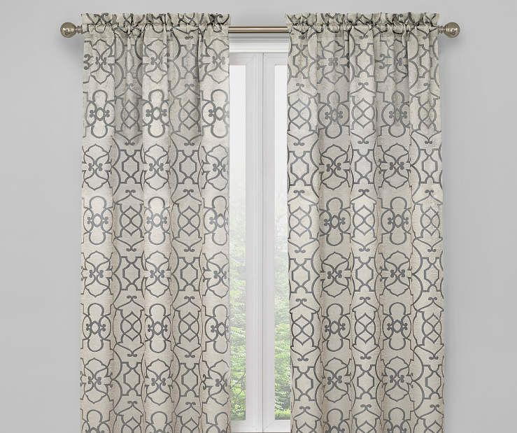Living Colors Ironwork Blackout Curtain Panel Pairs Panel