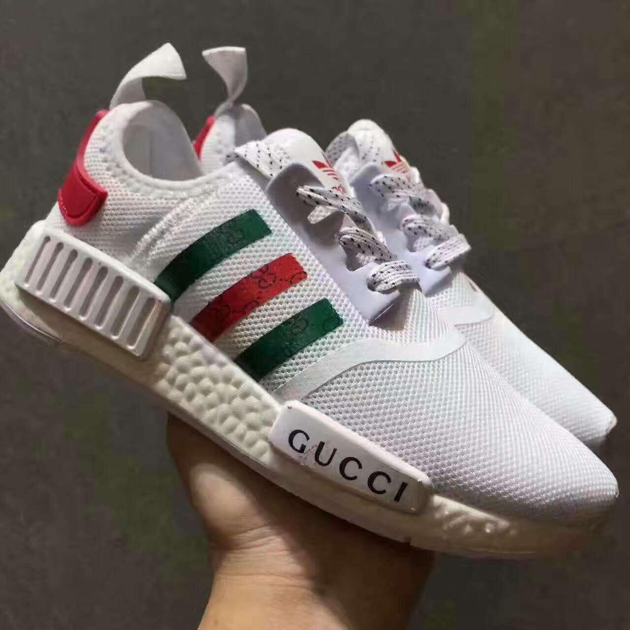 huge discount meet classic GUCCI Adidas NMD Fashion Women/Men Casual Running Sport Shoes from ...