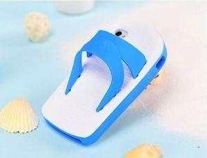 New 3D Sandal Slipper Case for Apple iPhone 5