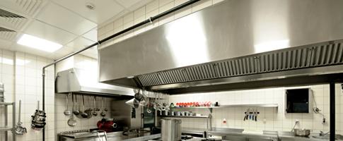 lighting for commercial kitchens