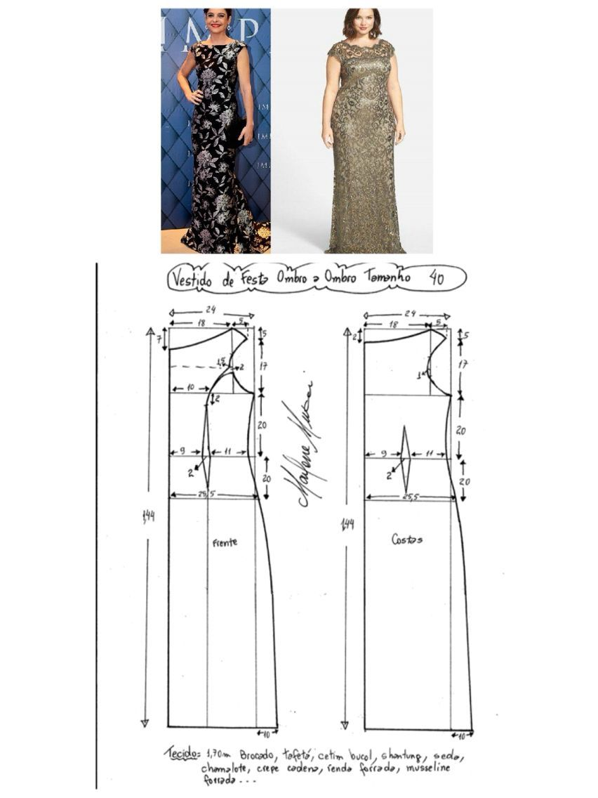 Best 11 Plus Size Skillofking Com Dress Patterns Long Dress