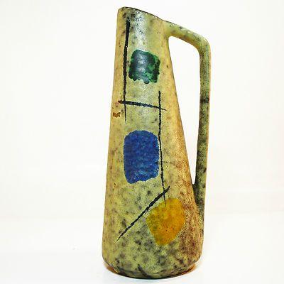 West German Pottery Vase • Scheurich Foreign • Form 275