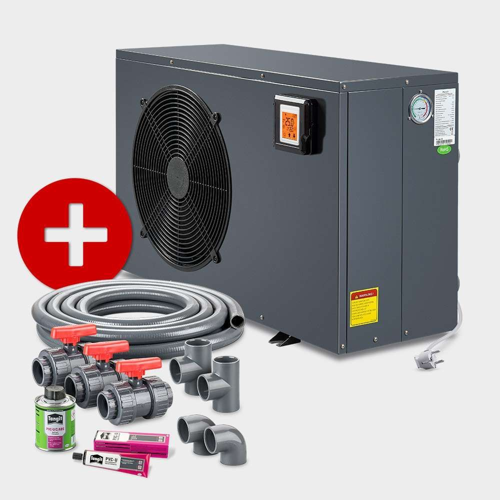 Poolsana Rechteckpool 7 00 X 3 50 X 1 50 M Promo Set Excellence And Energy Folie Grau Excellence 1 50 In 2020 Skimmer Pool Bodenreiniger Pool Thermometer