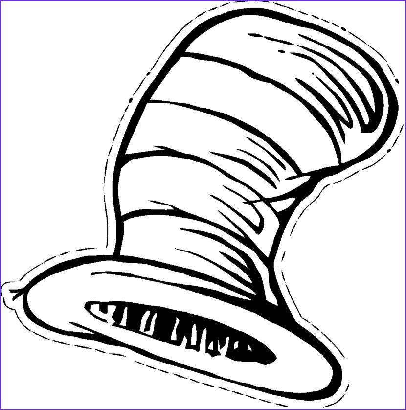 Cat In The Hat Clip Art Clipartion   Dr seuss images, Dr ...