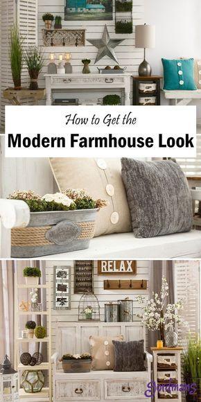 Modern Farmhouse Décor Tips & Ideas images
