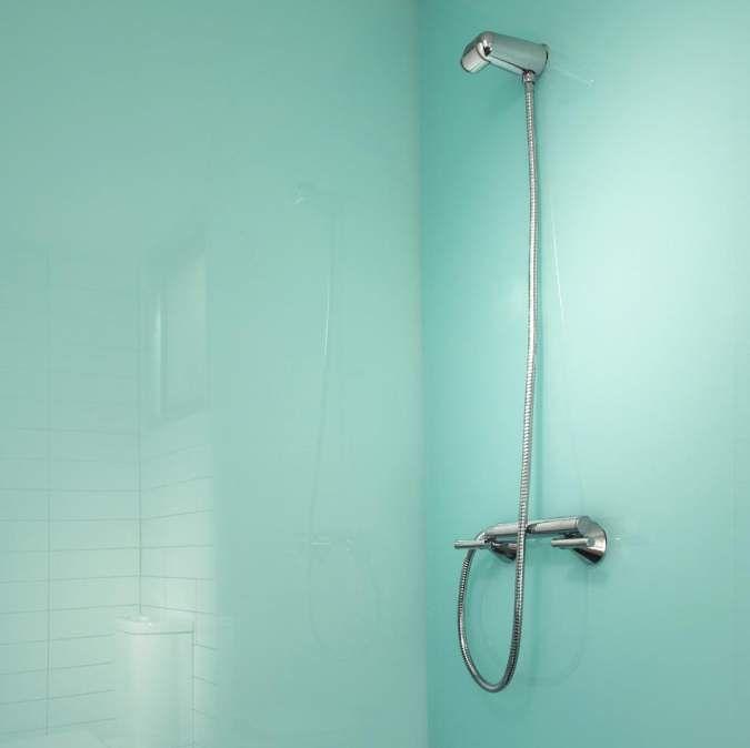 Lustrolite Glacier High Gloss Acrylic Bathroom Wall Panels In 2020 Bathroom Wall Panels Acrylic Wall Panels Bathroom Wall
