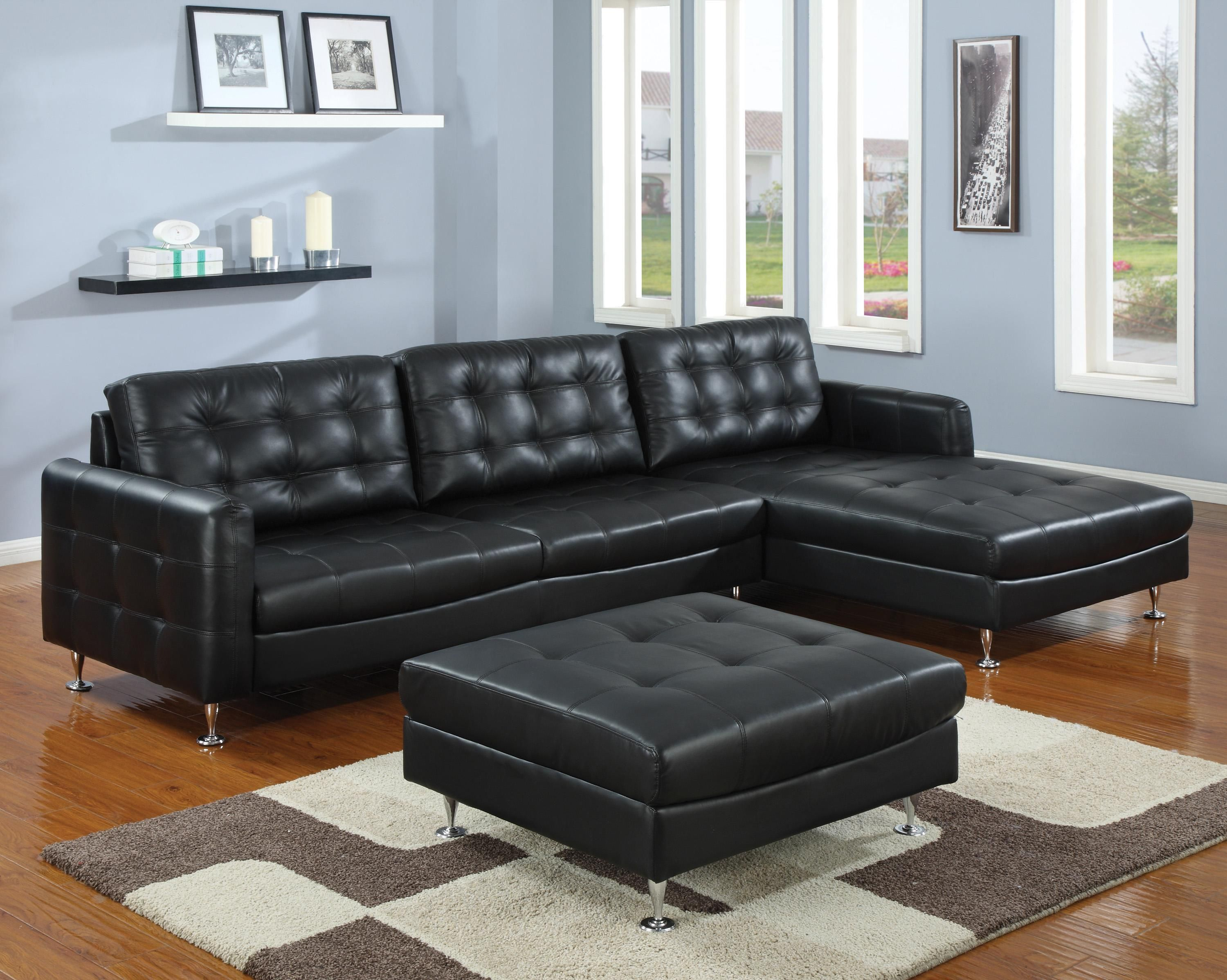 Contemporary 2 Piece Sectional by World Imports