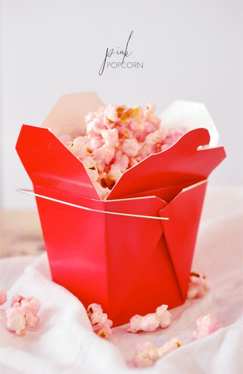 Pink Popcorn recipe!! amazing. this is even better than the stuff from your childhood.