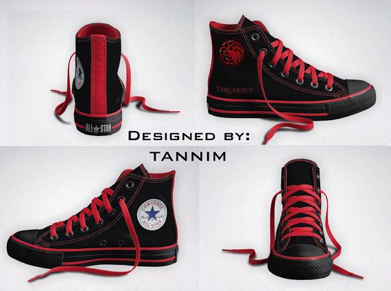 Les Converse Game of Thrones   Converse all star, Tênis