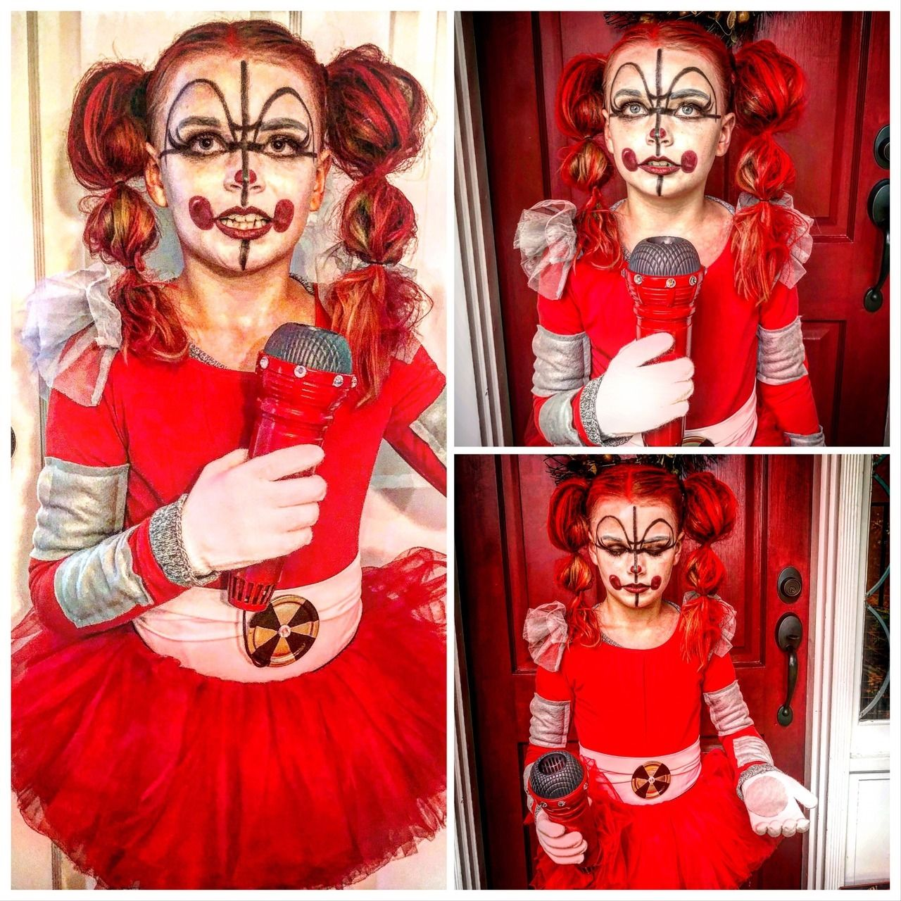 Circus Baby Costume Fnaf Sister Location Diy Circus Baby Costume Diy Baby Costumes Fnaf Costume Diy Halloween Costumes For Kids