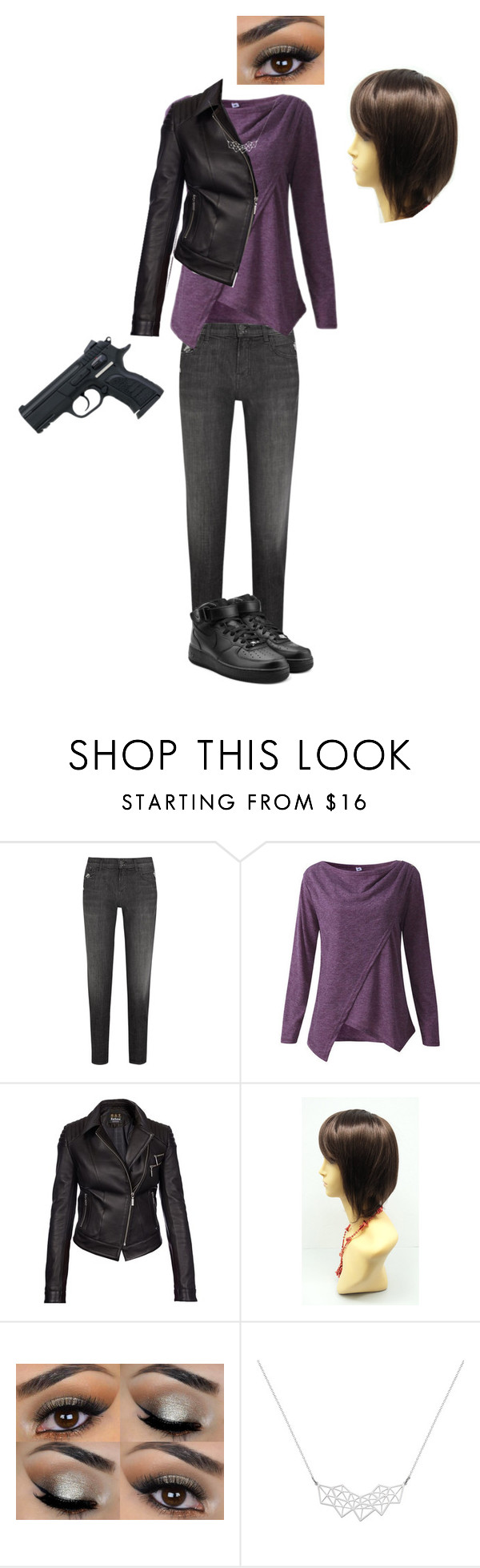 """""""Alex Danvers - Supergirl"""" by ipolywhorei ❤ liked on Polyvore featuring J Brand, Barbour International, A Weathered Penny and NIKE"""