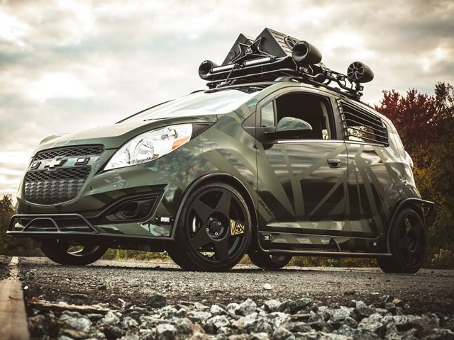 Chevrolet Spark Tuned By Enemy To Fashion Samochody
