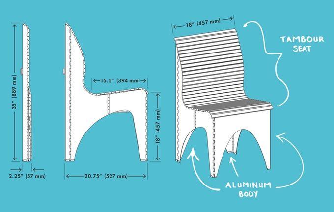 The Ollie Chair Has Both Standard And Metric Dimensions Dicas De Decoracao Cadeiras Criatividade