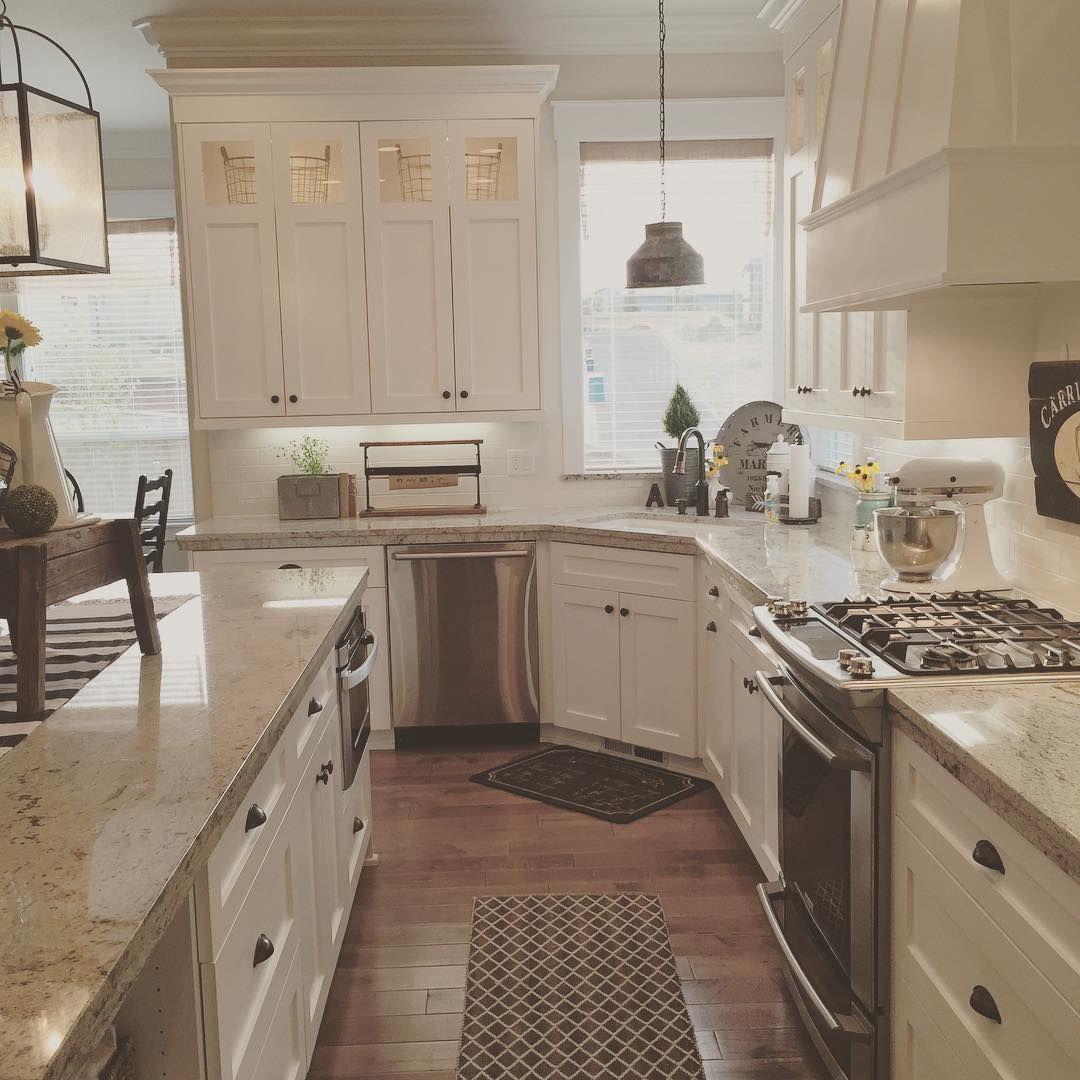 Instagram Kitchen Layout Home Kitchens Kitchen Design