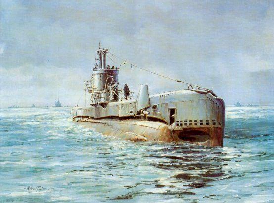 LIMITED EDITION ART 25 HMS TACITURN