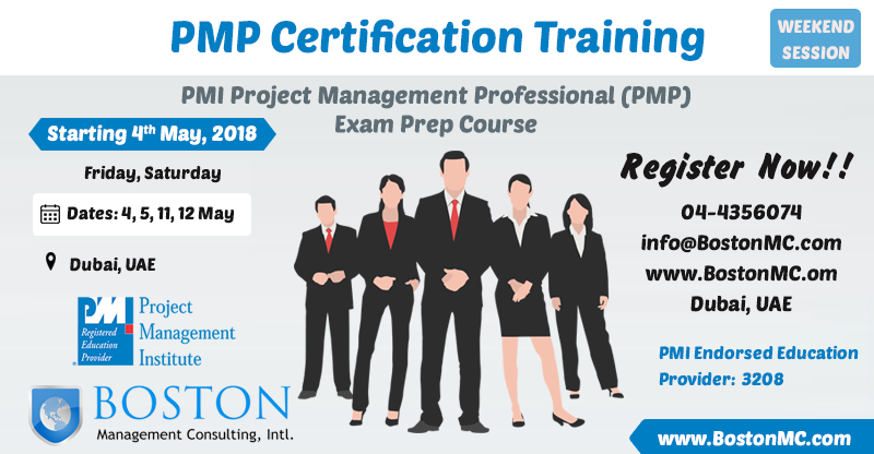 Pmp Evening Weekends Offer Saturday Classes Training Institute Dubai Project Management Professional Dubai Business Analysis