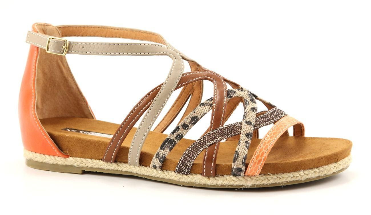 La Strada Lace up with Wedge