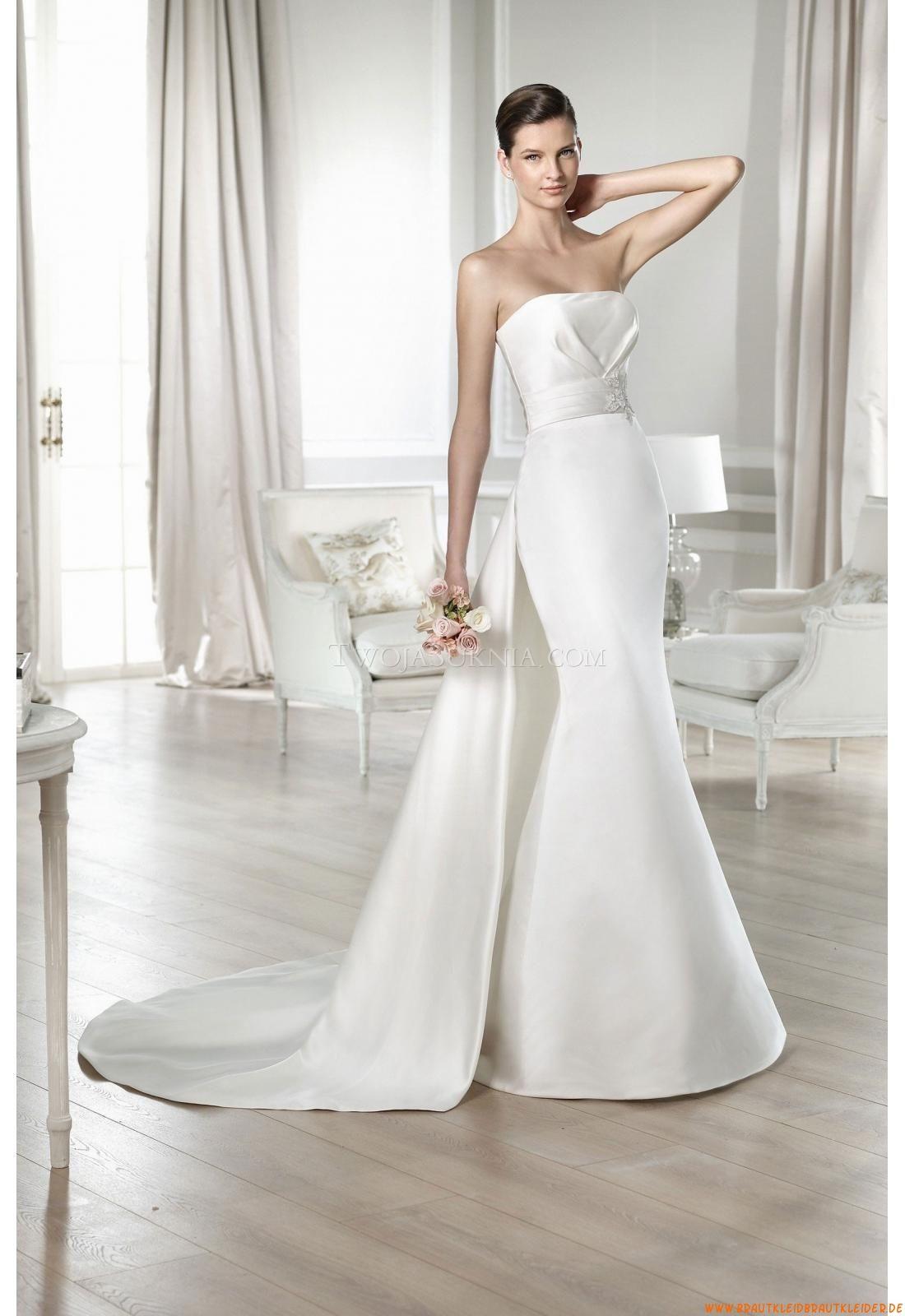 Trägerlos Meerjungfrau Bodenlang Elegante Brautkleider 2014 | WHEN ...