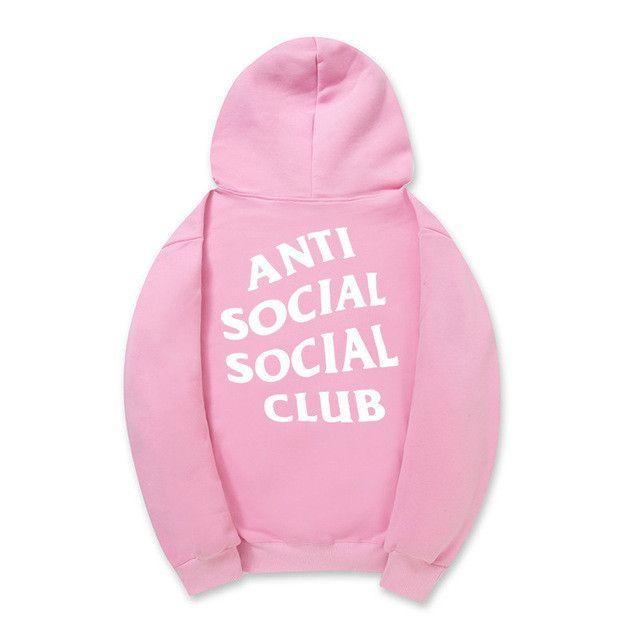 1 Hoodie High Club Hoodies 1 Women Anti Quality Social Men cuTFlK31J