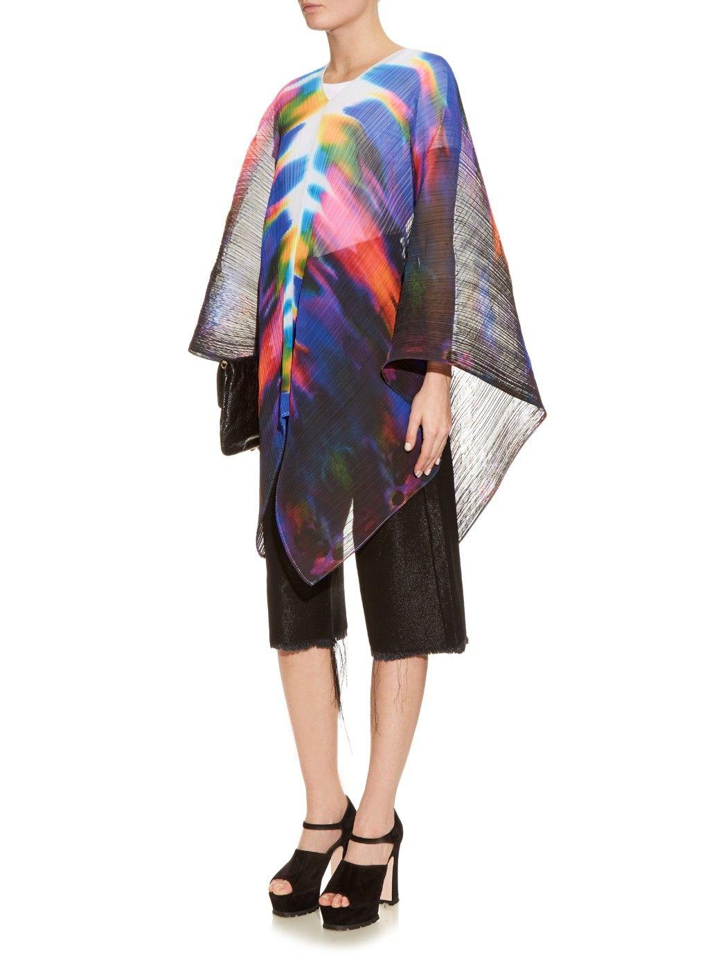 Tie-dye pleated scarf | Pleats Please Issey Miyake | MATCHESFASHION.COM
