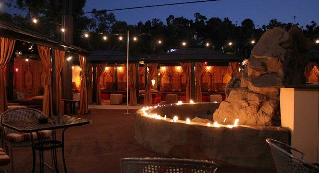Outdoor Hookah Lounge