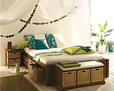 20 chambres pour de douces nuits colonial deco design et chambres. Black Bedroom Furniture Sets. Home Design Ideas