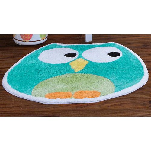 Lovely Owl Tufted Bath Rug | Boscovu0027s Good Looking